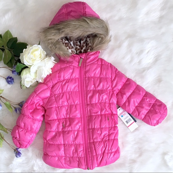 Limited Too Girls Star Print Puffer Jacket